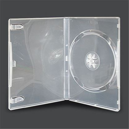 Picture of Single DVD Case 14mm Clear with Clear Film Cover (10 pcs)