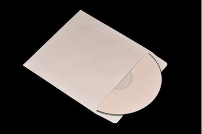 Picture of 100 Paper CD/DVD Sleeves without windows