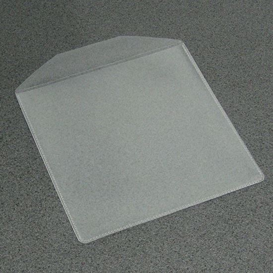 Picture of 100 Plastic CD/DVD Vinyl Plastic Sleeves
