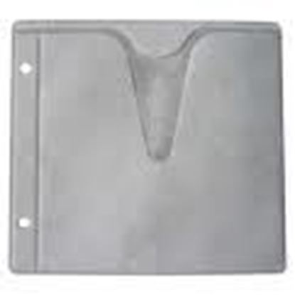 Picture of Ring Binder CD sleeves ( Double Sides ) 100 sleeves for 200cds