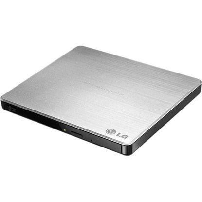 Picture of TRANSCEND EXTERNAL SLIM 8 X DVD WRITER (USB 2.0)-WHITE EXTRA SLIM