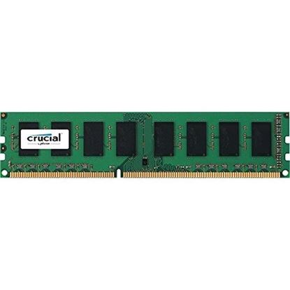 Picture of Crucial 4GB DESKTOP DDR3L 1600Mhz DIMM 240pin Non ECC CL11 256M X 8 PC3-12800 Desktop RAM 1.35v