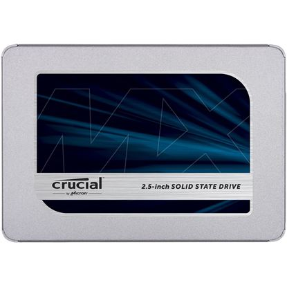Picture of Crucial MX500 250GB 2.5 inch SSD 7mm & 9.5mm adaptor , 560MB/s reading & 510MB/s Writing . 5 years Warranty Micron quality a higher level of reliability. 5 Years Warranty