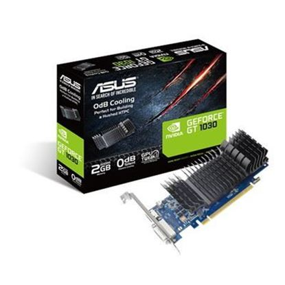 Picture of ASUS GeForce GT1030 2GB Graphics card , 2GB GDDR5 , Low Profile , Silent fan