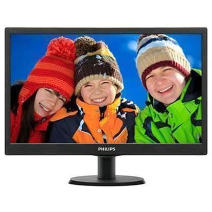 "Picture of Philips 203V5LSB2 20"" LED Monitor , 1600x900 , 100x100mm Vesa mount ,VGA Port"