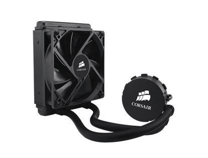 Picture of CORSAIR HYDRO SERIES H55 COMPATIBLE WITH INTEL (LGA115X LGA1366 LGA 2011) AND AMD (AM2 AM3 FMX) 120MM RADIATOR