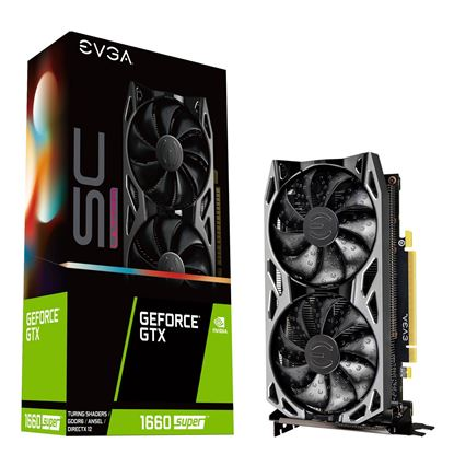 Picture of EVGA GeForce GTX 1660 SUPER SC Ultra 6GB GDDR6 Graphics Card
